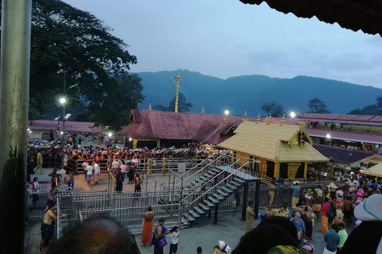 SC to decide tomorrow date for hearing review petitions on Sabarimala verdict