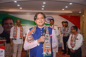 Criminal defamation charge against me frivolous: Tharoor