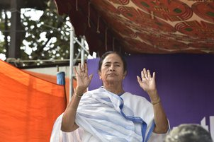 Modi govt has snatched farmers' sleep, says Mamata; refers to her 26-day fast in 2006