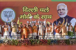 AAP brought 'nakampanthi' of governance to Delhi: PM