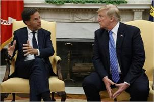 Dutch PM to visit Trump for talks on trade, defence