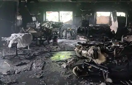 8 Patients Killed as Fire Breaks Out in ICU of Ahmedabad Covid Hospital