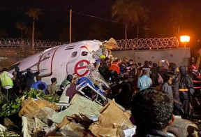 Air India plane crash land in Karipur; 20dead