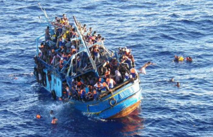 UN: Boat capsizes near Libya; 24 migrants presumed dead