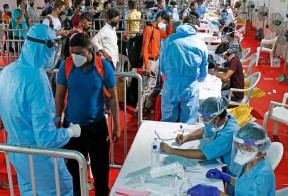 8,778 fresh Covid cases reported in Kerala on Wednesday; test positivity rate rises to 13.45 pc