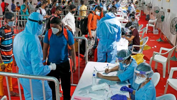 10.76 pc people in Kerala are unaware of being infected with COVID