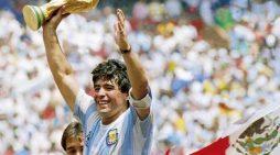 Football legend Diego Maradona no more