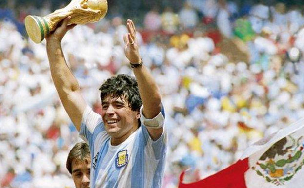 Football legend Diego Maradona no more