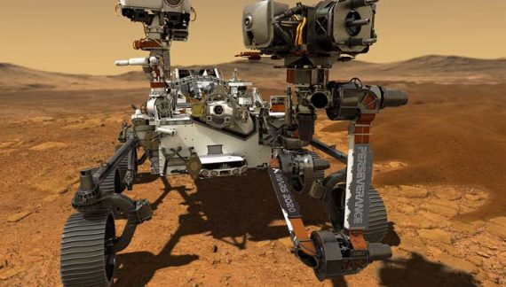 NASA Mars Rover Perseverance Makes Historic Landing on Red Planet, Shares First Photo