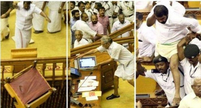 Setback for govt, court rejects discharge plea of Minister Sivankutty and others in assembly ruckus case