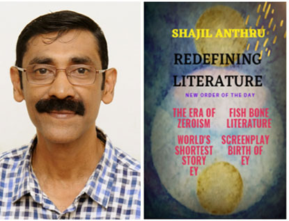 A great Litterateur from California, United States of America Jack Foley writes about Shajil Anthru's book