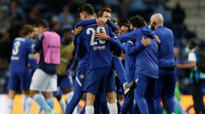 Chelsea beats City to win Champions League