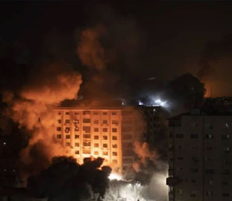 Over 200 rockets fired at Israel, says Palestinian Militant Group