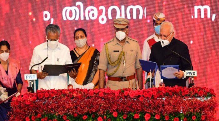 Pinarayi Vijayan sworn in as Kerala CM for second time