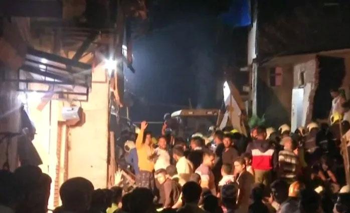 11 killed in Mumbai as three-storey building collapses in heavy rain