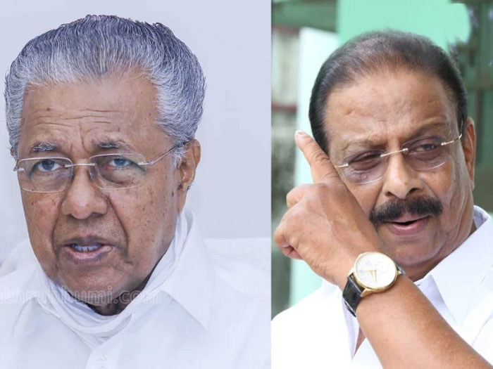 'A Congress leader once told me that Sudhakaran had planned to kidnap my children'; Chief Minister hits back
