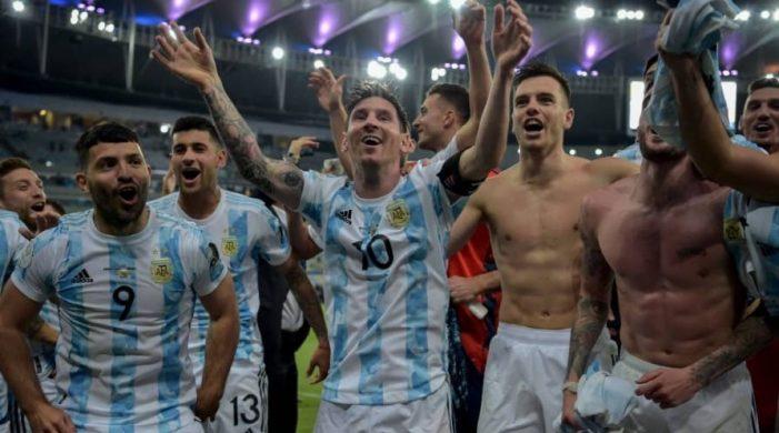 Argentina beats Brazil 1-0; lifts Copa America after a long wait