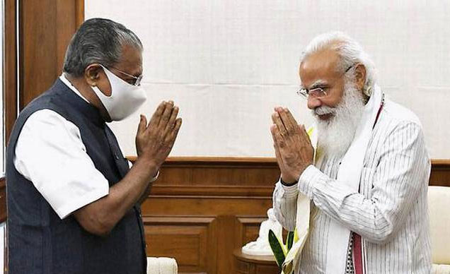 PM offered all support for development projects in Kerala, says CM