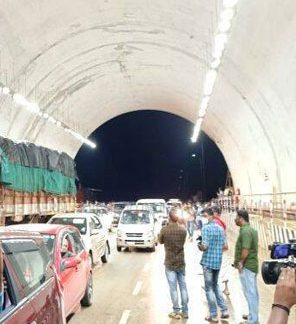 Kuthiran tunnel opened for traffic, hour-long traffic jams a thing of past
