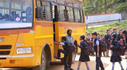 Transport Department issues guidelines: Students should carry hand sanitizer, wear masks; bus drivers, attendants must take two doses of vaccine
